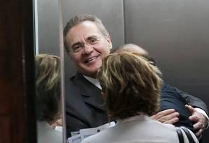 O presidente do Senado, Renan Calheiros Foto: Jorge William / 20-10-2015 / Agência O Globo