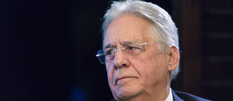 O ex-presidente Fernando Henrique Cardoso será ouvido por Moro Foto: Leo Martins / Agência O Globo