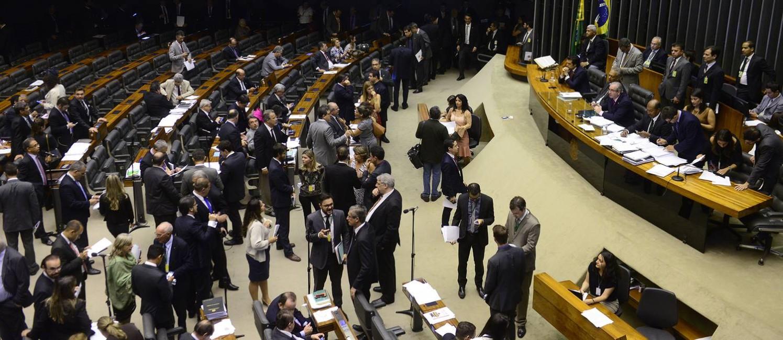 Deputados no plenário de Câmara Foto: Divulgação / Câmara