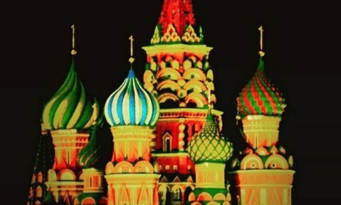 Catedral de São Basílio, Moscou, na Rússia Foto: @liafrotaelopes / Instagram