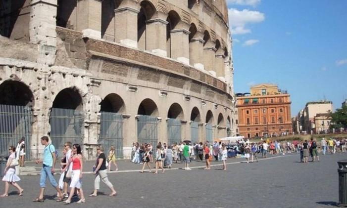 Piazza del Colosseo, Roma, Itália Foto: @ciromudd / Instagram