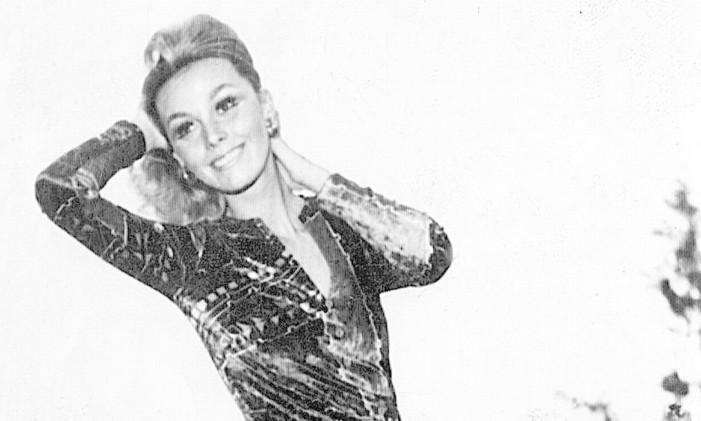 """A socialite Ângela Diniz, morta por Doca Street em 1976: no primeiro julgamento, assassino foi condenado a dois anos porque jurados entenderam que ele agiu """"em legítima defesa da honra""""Foto: Terceiro / Reprodução (11/06/1973)"""