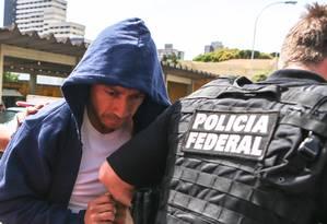 O operador da Lava-Jato Fernando Baiano Foto: Geraldo Bubniak / 19-11-2014 / Agência O Globo