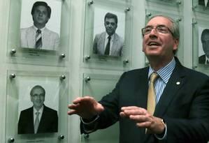 O presidente da Câmara dos Deputados, Eduardo Cunha Foto: Jorge William / 21-10-2015 / Agência O Globo