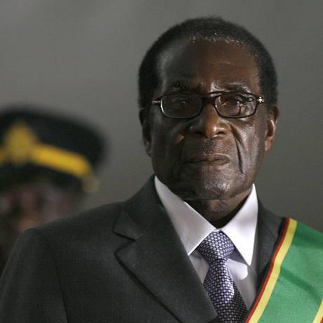 Mugabe, em foto de 2008 Foto: ALEXANDER JOE / AFP