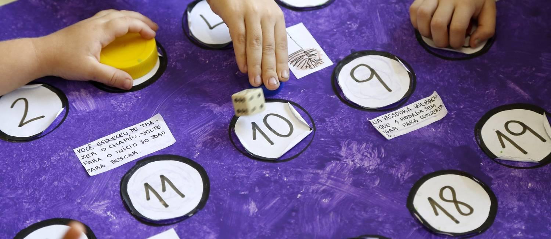 Escola Pedra da Gávea tem jogos executivos para estimular a criatividade dos alunos Foto: Fabio Rossi