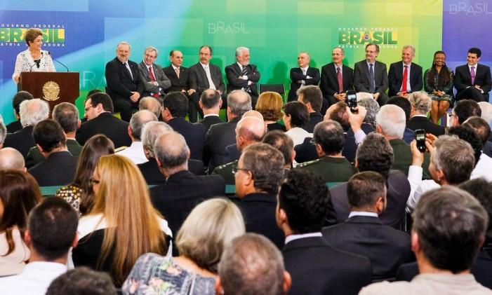 Cerimônia de posse dos novos ministros Foto: 05/10/2015 / Divulgação / Presidência / Roberto Stuckert Filho