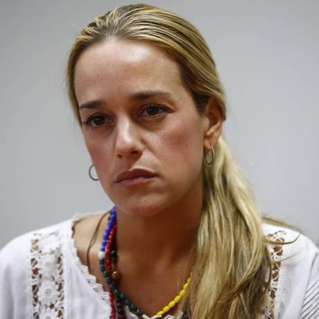 Lilian Tintori, esposa de Leopoldo López, escreve ao Planalto para Foto: Jorge Silva / Reuters