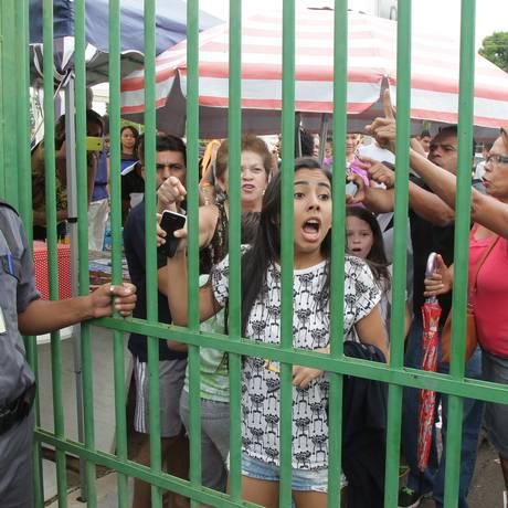 Jaqueline Monteiro, de 19 anos, foi barrada em Brasília Foto: Ailton de Freitas / Agência O Globo