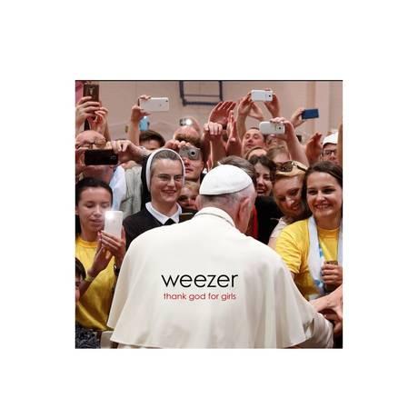 Capa do novo single do Weezer Foto: Reprodução