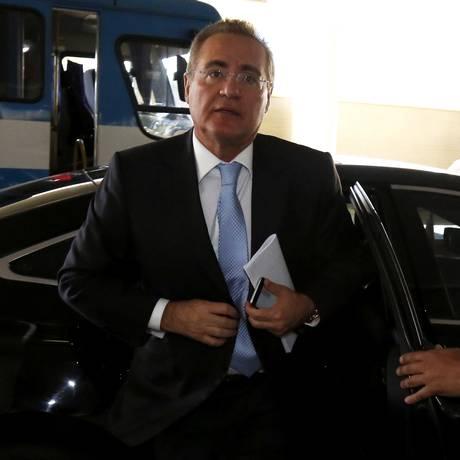 O Presidente do Senado Federal, Renan Calheiros (PMDB-AL) Foto: Ailton de Freitas / 14-10-2015 / Arquivo O Globo