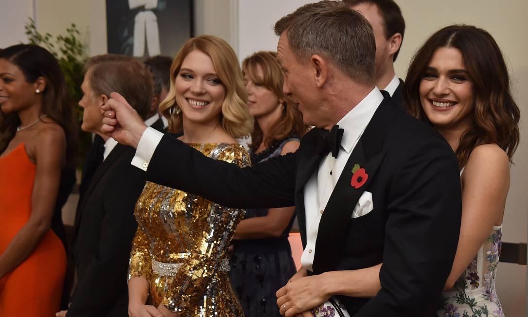 Casados, eles são mesmo inseparáveis Alan Davidson / AP