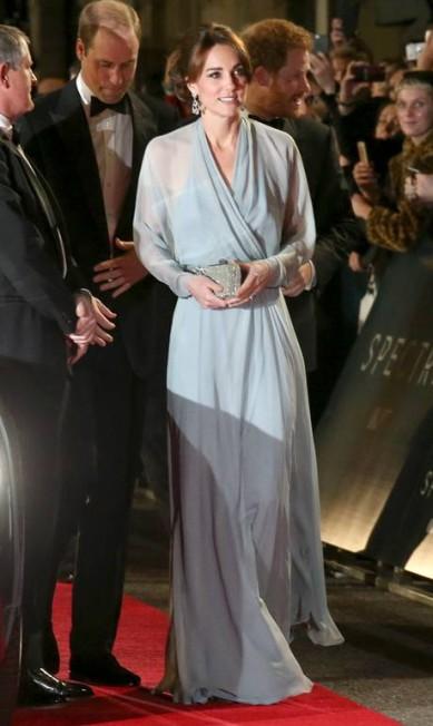 Kate Middleton, de Jenny Packham Joel Ryan / Joel Ryan/Invision/AP