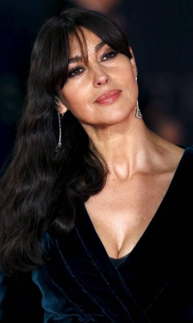 A beleza de Monica Bellucci LUKE MACGREGOR / REUTERS