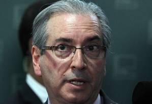 Presidente da Câmara, Eduardo Cunha Foto: Givaldo Barbosa / Agência O Globo