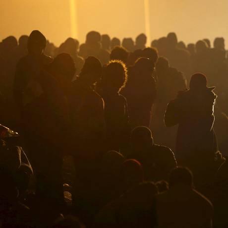 700 mil imigrantes buscam refúgio na Europa Foto: SRDJAN ZIVULOVIC / REUTERS
