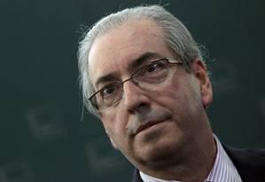 O presidente da Câmara, Eduardo Cunha. Foto: Givaldo Barbosa / Agência O Globo