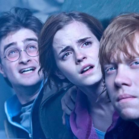 Uma das cenas de 'Harry Potter e as relíquias da morte' Foto: Divulgação