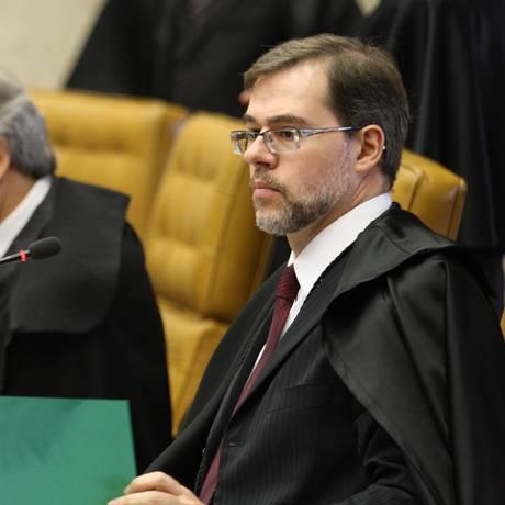 O Ministro Dias Tofolli, autor da proposta Foto: Ailton de Freitas / 30.11.2011 / Arquivo O Globo
