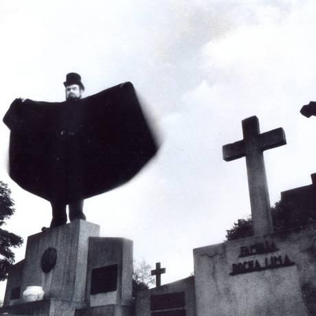 José Mojica Marins como Zé do Caixão Foto: Divulgação