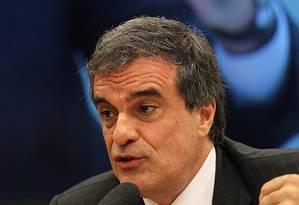 O ministro da Justiça na Comissão de Agricultura da Câmara Foto: Jorge William / Agência O Globo / Arquivo 09/09/2015