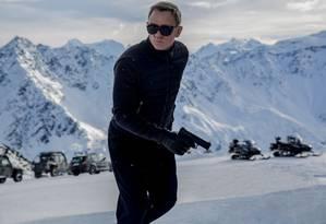 Daniel Craig enfrentará pela primeira vez a temida Spectre Foto: Divulgação