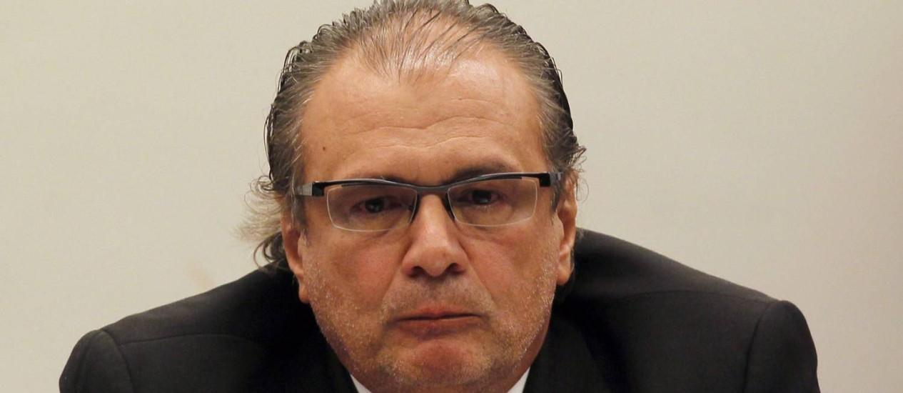 O ex-gerente de Serviços da Petrobras Pedro Barusco Foto: Givaldo Barbosa / Arquivo O Globo
