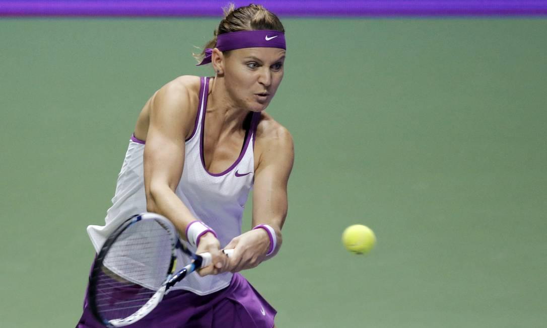 Compatriota de Kvitova, Lucie Safarova já está eliminada Jeremy Lee;Jeremy Lee / REUTERS
