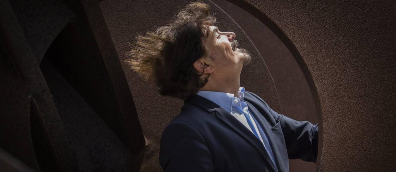 Thierry Raspail, curador de arte e diretor do Museu de Arte Contemporanea de Lyon: 'Na arte, o que está em jogo é entrar na História' Foto: Fernando Lemos / Agência O Globo