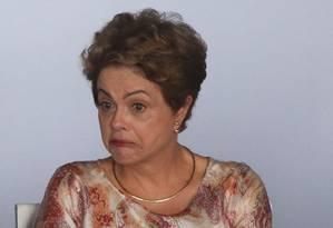 A presidente Dilma Rousseff Foto: André Coelho / 29-10-2015 / Agência O Globo