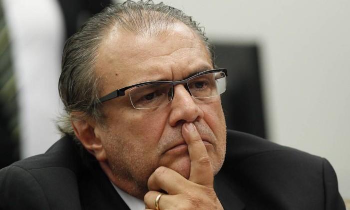 Pedro Barusco, ex-gerente de Serviços da Petrobras, cumpre prisão domiciliar por dois anos. Ele não chegou a ser preso, e fechou um acordo de delação em novembro de 2015 Foto: Jorge William/ Agência O Globo