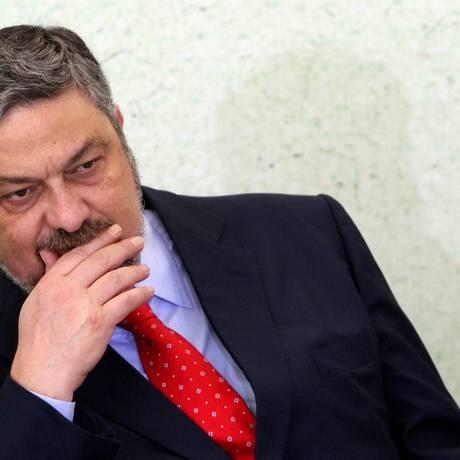 Ex-ministro da Casa Civil e da Fazenda, Antonio Palocci foi preso em 26 de setembro de 2016. Foto: Gustavo Miranda / O GLOBO/Arquivo 31-10-2015