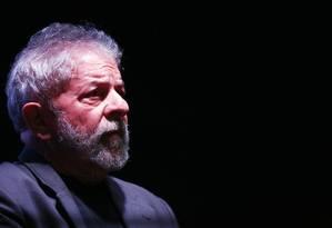 O ex-presidente Luiz Inácio Lula da Silva Foto: Fernando Donasci / Agência O Globo