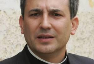 O sacerdote espanhol Lucio Angel Vallejo Foto: AFP
