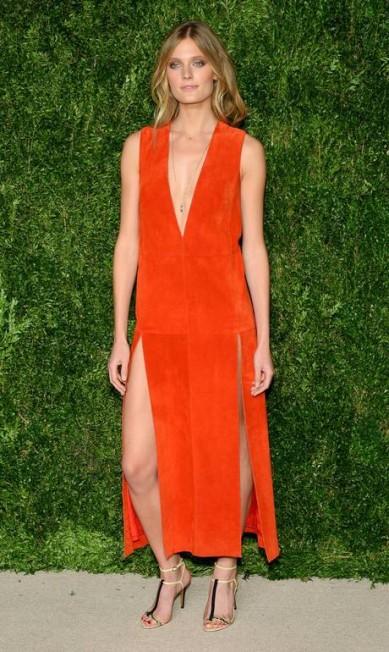 A modelo francesa Constance Jablonski Andrew Toth / AFP