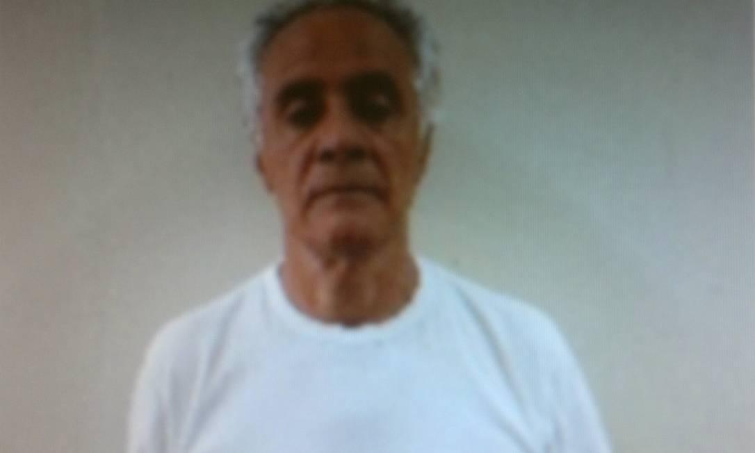 Reprodução da foto da ficha criminal de Ramon Hollerbach na Papuda Foto: Reprodução / Arquivo O Globo