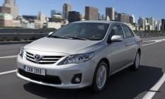 O Toyota Corolla está entre os veículos envolvidos no recall da montadora Foto: Reprodução