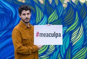 """Pedro Neschling: """"Todos nós, homens, temos mais culpa do que gostaríamos de admitir"""" Foto: Leo Martins / Agência O Globo"""