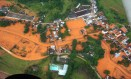 Drama em Miraí (MG): cidades do Rio também foram atingidas Foto: Conrado Aguiar Barreto / Aeroclube de Campos / 10-01-2007