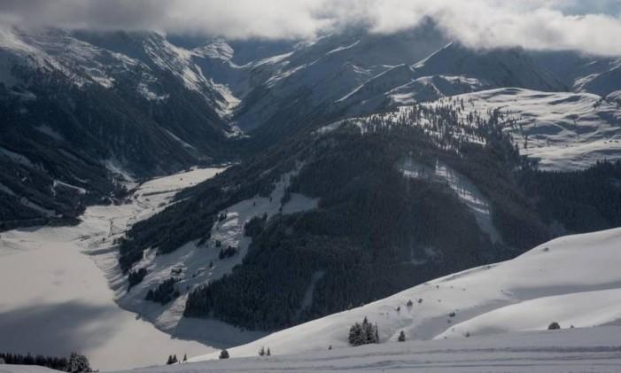 A bela paisagem de uma estação de esqui em Obertilliach, na Áustria Foto: Divulgação