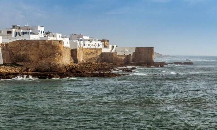 Uma das locações do filme foi no Tânger, no Marrocos Foto: Divulgação