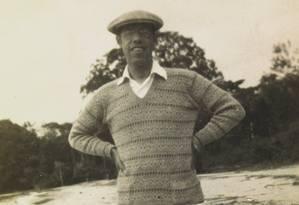 Mário de Andrade na ilha do Mosqueiro, no Pará, em 1927 Foto: Reprodução/Coleção Mário de Andrade/IEB-USP