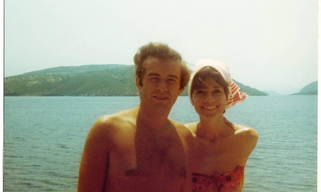Audrey Hepburn com o segundo marido, Andrea Dotti Audrey Hepburn Estate Collection