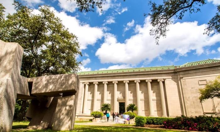 Fachada do Houston Museum of Fine Arts Foto: Divulgação