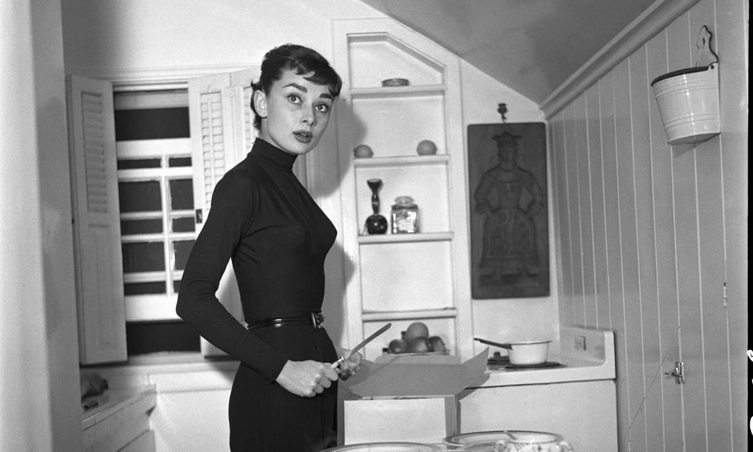 """Foto do livro """"Audrey, minha mãe"""" Reprodução / Audrey Hepburn Estate Collection"""