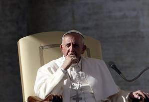 Francisco mostrou confiança em mudanças na Igreja Foto: ALESSANDRO BIANCHI / REUTERS