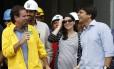 Eduardo Paes assegurou que o secretário Pedro Paulo é o melhor candidato para o Rio em inauguração no Parque Olímpico