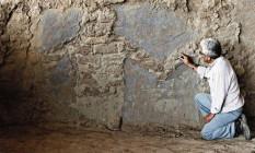 Figuras humanas foram identificadas por especialistas Foto: Dante Piaggio / El Comercio-Perú/GDA