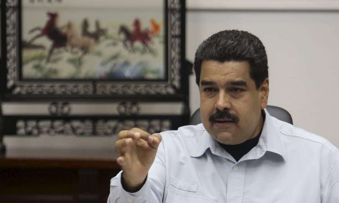Presidente venezuelano Nicolás Maduro prometeu denunciar supostas violações dos EUA à ONU e à Unasul Foto: HANDOUT REUTERS / REUTERS