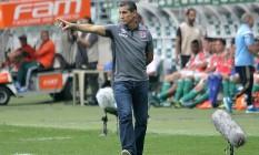 Jorginho disse que o time conseguiu um ótimo resultado e continua acreditando que vai escapar Foto: Divulgação/Vasco